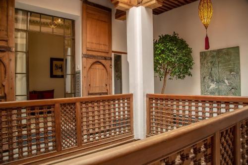 Een balkon of terras bij La Maison Maure