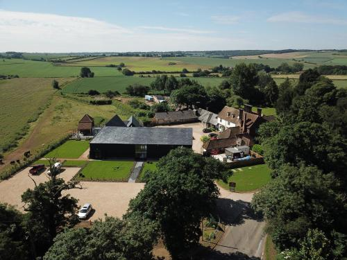 A bird's-eye view of The Farmhouse at Redcoats