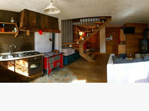 Cucina o angolo cottura di Chalet Lagorai