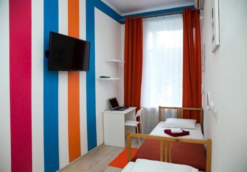 TV/Unterhaltungsangebot in der Unterkunft Voyage Hotel & Hostel