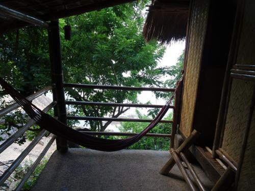 A balcony or terrace at Palawan SandCastles