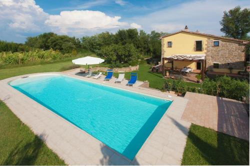 The swimming pool at or near FicOlivo