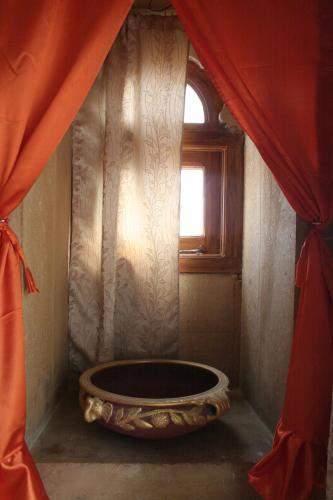 A bathroom at Shanti Home