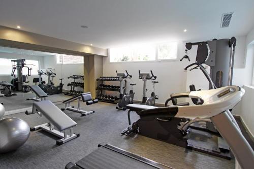 Centrul de fitness și/sau facilități de fitness de la Hotel Java
