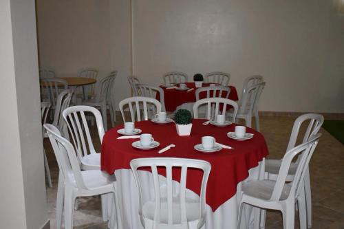 A restaurant or other place to eat at Pousada Ecoville