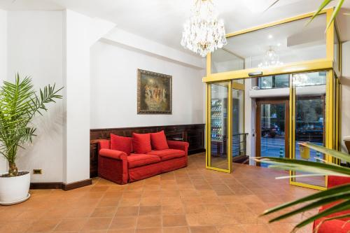 The lobby or reception area at La Fenice
