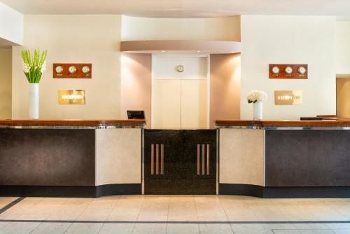The lobby or reception area at Copthorne Hotel Newcastle