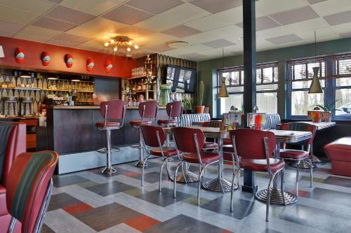 Loungen eller baren på Wittrup Motel