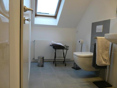 A bathroom at Stadt trifft Land
