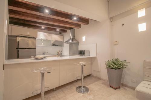A bathroom at Casa Claver Loft Boutique Hotel