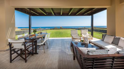 Restauracja lub miejsce do jedzenia w obiekcie Great Sand Villa