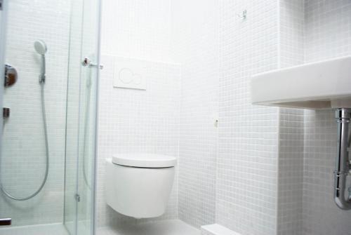 A bathroom at new design apartment