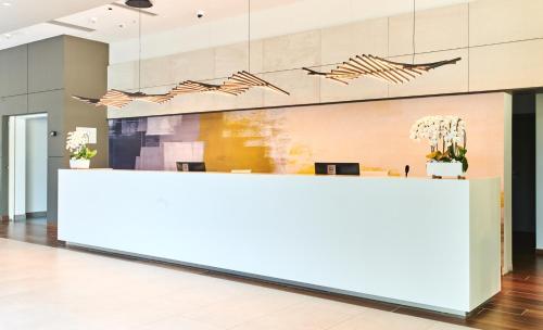 The lobby or reception area at Garden Suites Park Plava Laguna