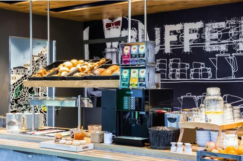 Restaurant ou autre lieu de restauration dans l'établissement ibis Budget Knokke