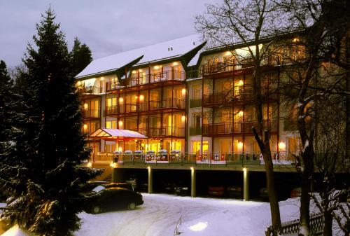 Chalet Sonnenhang Oberhof im Winter