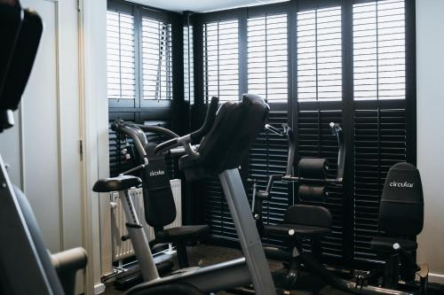 The fitness center and/or fitness facilities at Pillows Grand Boutique Hotel Ter Borch Zwolle