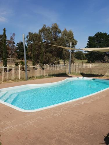 The swimming pool at or near Barooga Golf View Motel