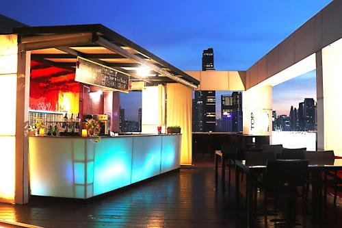 A restaurant or other place to eat at Hi Residence, Bangkok
