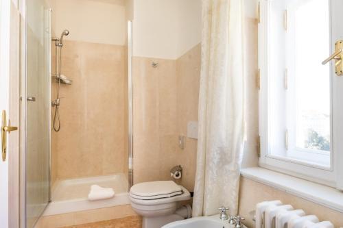 Koupelna v ubytování La Fenice
