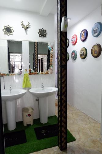 Ein Badezimmer in der Unterkunft Lipe Hostel