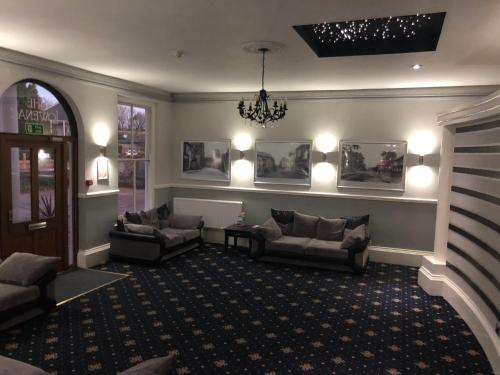 A seating area at Lowenac Hotel