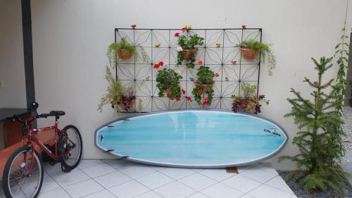 The swimming pool at or near Moradas Elene