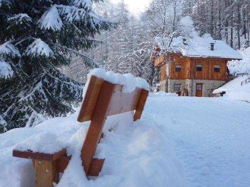 Mas De La Bolp - Chalet durante l'inverno