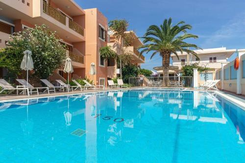 The swimming pool at or close to Aristea Hotel