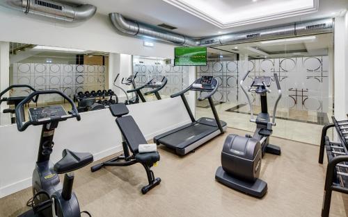 Het fitnesscentrum en/of fitnessfaciliteiten van Sercotel Hotel Europa