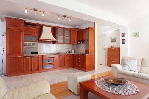 Küche/Küchenzeile in der Unterkunft Urban Serviced Apartments