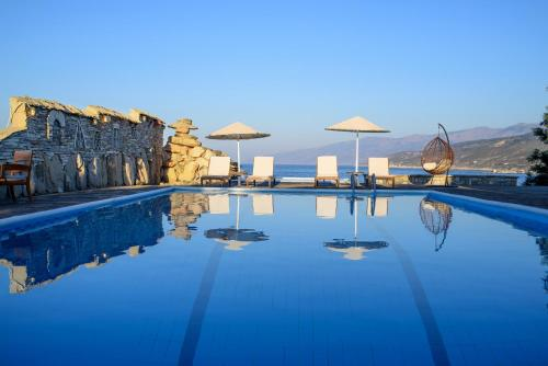 The swimming pool at or near Cavos Bay Hotel & Studios