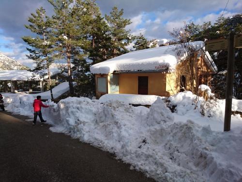 Casa Espinalbet en invierno