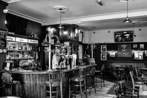 The lounge or bar area at The Ship Inn
