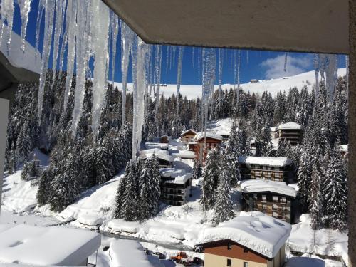 Appartamento Lago Azzurro Madesimo during the winter