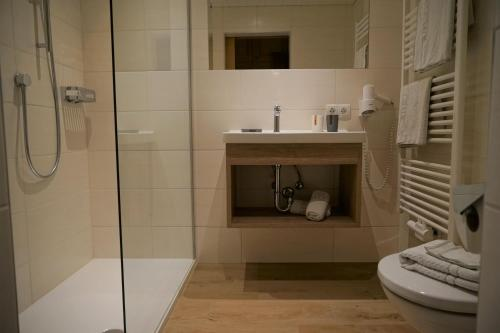 A bathroom at Villa Cornelia