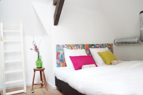 Un ou plusieurs lits dans un hébergement de l'établissement Youth Hostel The Hague