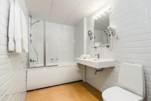 Kúpeľňa v ubytovaní Hestia Hotel Draugi