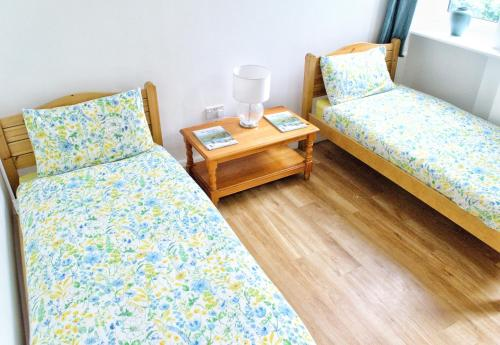A bed or beds in a room at Aberdeen Youth Hostel