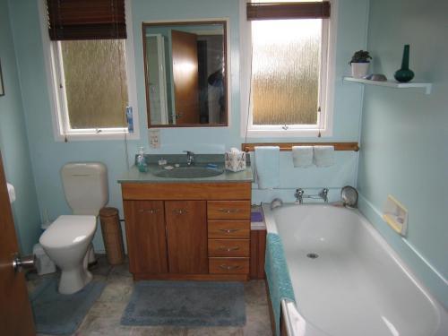 A bathroom at Hillpark Homestay