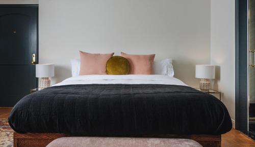 Un ou plusieurs lits dans un hébergement de l'établissement Gold-Diggers