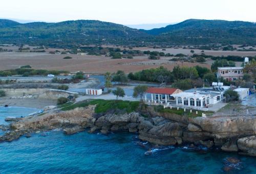 A bird's-eye view of Theresa Hotel at Karpaz Peninsula