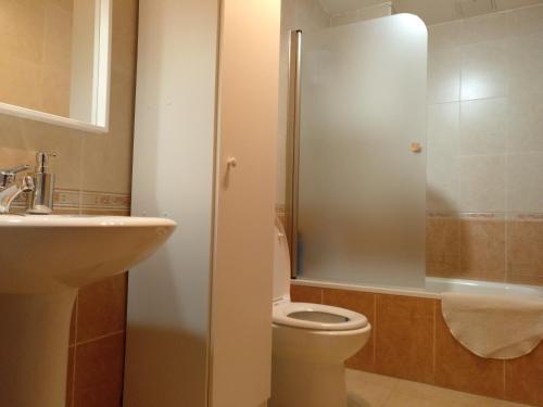 Łazienka w obiekcie Francos Rooms