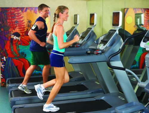 The fitness center and/or fitness facilities at Aston Waikiki Beach Hotel
