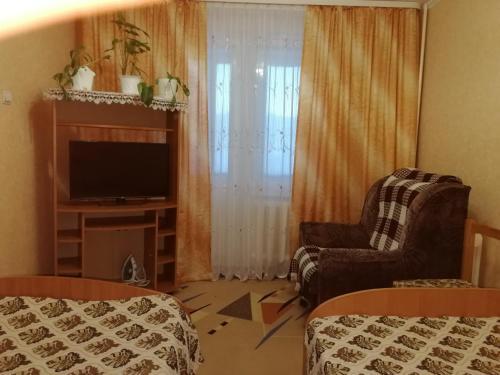 Гостиная зона в Апартаменты на Ленинградской 25