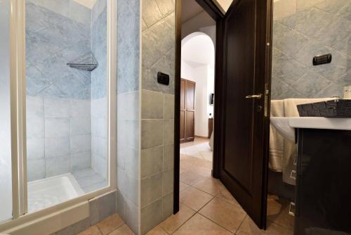 A bathroom at Hotel Nicoletta