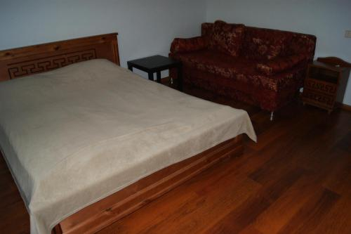 Кровать или кровати в номере Light House