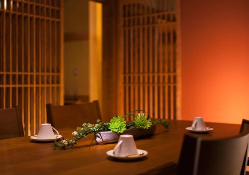 A restaurant or other place to eat at Saiou no Miya