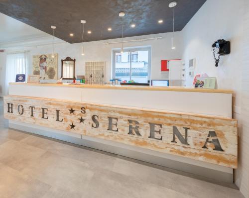 Vstupní hala nebo recepce v ubytování Hotel Garni' Serena