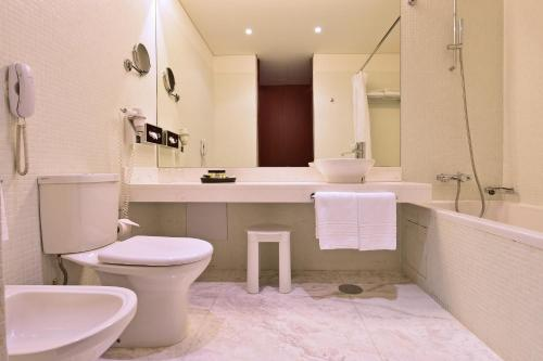 A bathroom at Pousada De Viseu