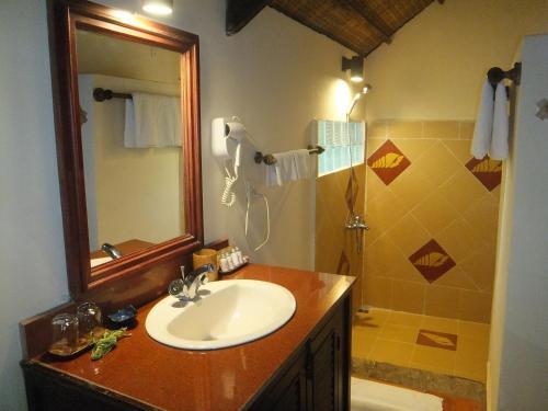 A bathroom at Mai House Resort